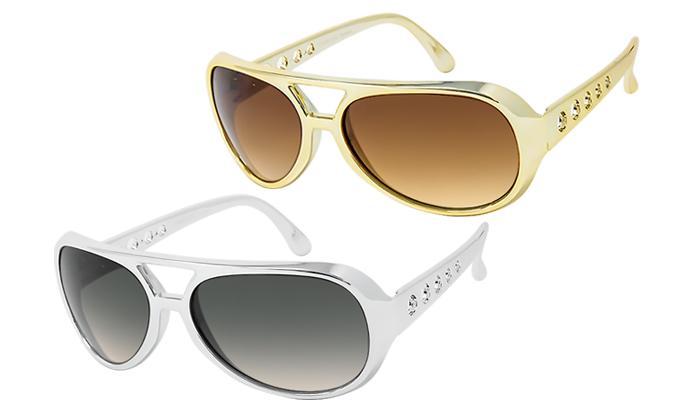 3059BIG. ELVIS Style Sunglasses