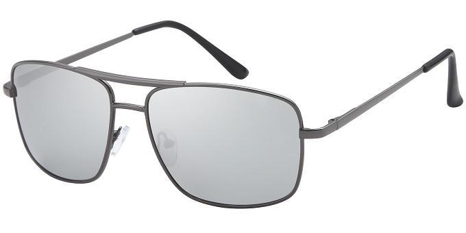 04bfc5a66eb Wholesale polarized square aviator with silver mirror lenses