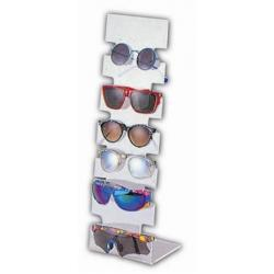 K-6C. Acrylic Counter Ramp for Kids Sunglasses